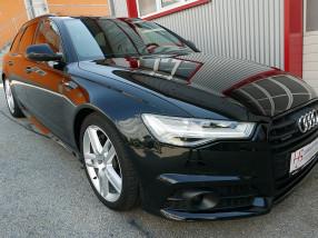 Audi A6 Avant 3,0 TDI Quattro S-tronic *3xS-LINE*LED*AHK*Standheizung*PANO*ACC*Optikpacket schwarz* bei BM || KFZ Baumgartner in