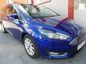Ford Focus Traveller 2,0 TDCi Titanium *NAVI*AHK*Teilleder*Sitzheizung*Parklenkassistent*Keyless* bei BM || KFZ Baumgartner in