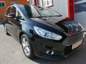 Ford S-MAX 2.0 TDCi Aut.*NAVI*AHK*Tempomat*Sitzheizung*elektr. Heckklappe*PDC vo/hi* bei BM || KFZ Baumgartner in