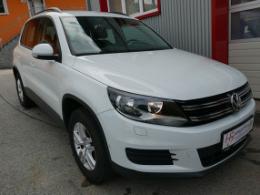 VW Tiguan 2,0 TDI 4Motion DSG *NAVI*AHK*Sitzheizung*Parklenkassistent*PDC vo/hi* bei BM || KFZ Baumgartner in